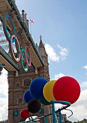 Photograph - Olympic London by Shirley Mitchell