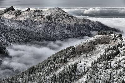 Photograph - Olympic Ridge by Adam Jewell