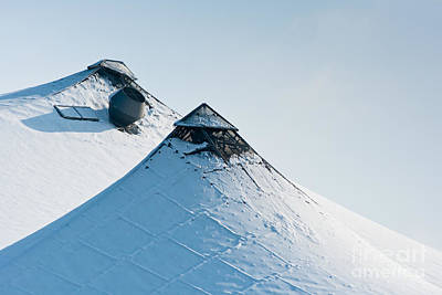 Art Print featuring the photograph Olympic Snow by Andrew  Michael