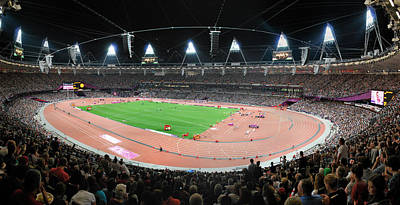 Photograph - Olympic Stadium. by Terence Davis