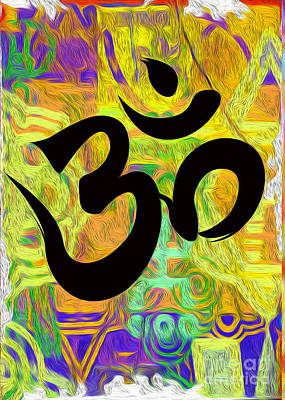 Painting - om by Gregory Dyer