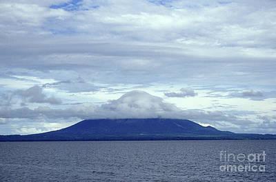 Photograph - Ometepe Volcano Nicaragua by John  Mitchell