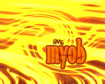 Omg Myob Art Print by Linda Seacord