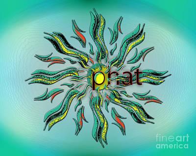 Omg Phat Art Print by Linda Seacord