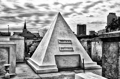 New Orleans Cemeteries Digital Art - Omnia Ab Uno - Everything From The One by Bill Cannon