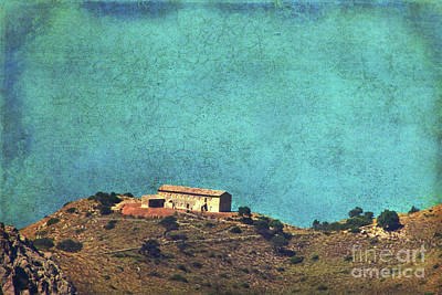 On A High Rock Art Print by Angela Doelling AD DESIGN Photo and PhotoArt