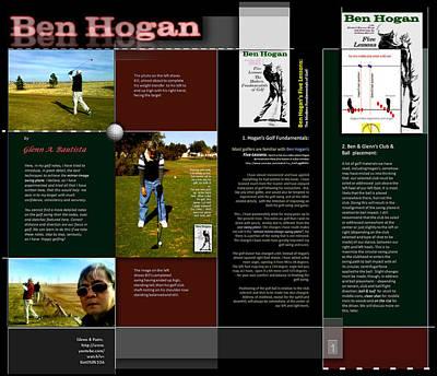 Digital Art - On Ben Hogan By Glenn P1 by Glenn Bautista