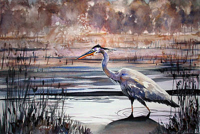 Painting - On Blue Bayou  by John Mabry