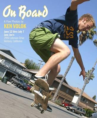 On Board Art Print by Ken Volok