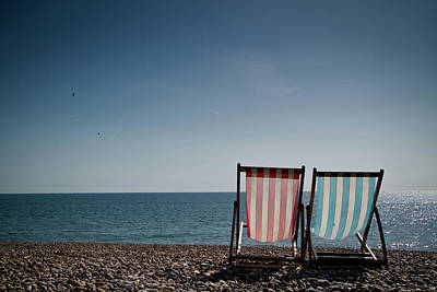On Brighton Beach Art Print by SVGiles