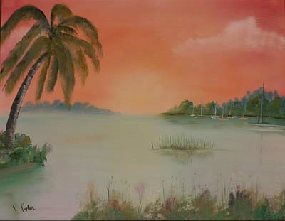 Kugler Painting - On Island Time by Scott Kugler