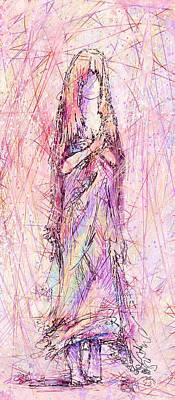 On My Toes Art Print by Rachel Christine Nowicki