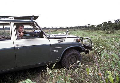 Photograph - On Photo Safari In Kenya by Greg Dimijian