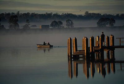 On The Clarence River Near Grafton, Two Art Print