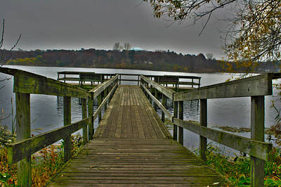 Photograph - On The Dock by David Wohlfeil