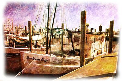 Digital Photograph - On The Docks by Barry Jones
