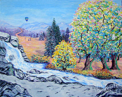 Painting - On The Lookout by Lisa Rose Musselwhite