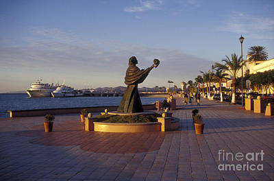 Photograph - On The Malecon La Paz Baja Mexcio by John  Mitchell
