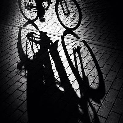 Bike Photograph - On The Move. See Y'all Later! #bycicle by Robbert Ter Weijden