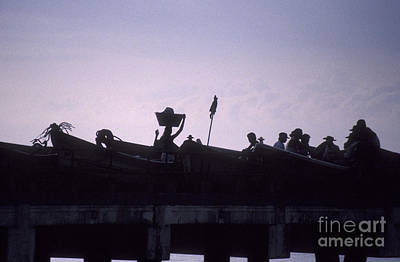 Photograph - On The Pier In La Libertad El Salvador by John  Mitchell