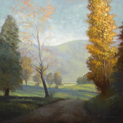 Cades Cove Painting - On The Road by Jonathan Howe