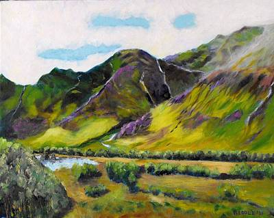 Painting - On The Road To Skye by Jack Riddle