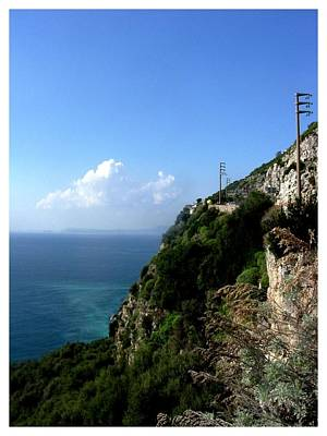 Photograph - On The Road To Sorrento by Frank Wickham
