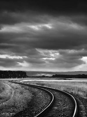 Photograph - On The Track I. by Jaromir Hron