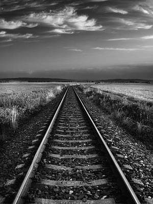 Wall Art - Photograph - On The Track II. by Jaromir Hron