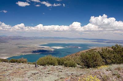 Crowley Lake Photograph - On Top Of Mono Lake by Kirk Williams