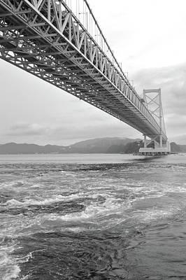 Onaruto Bridge Art Print