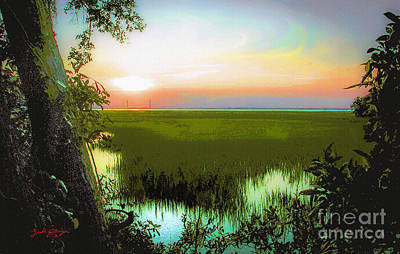 Once Upon A Time At Jekyll Island Art Print