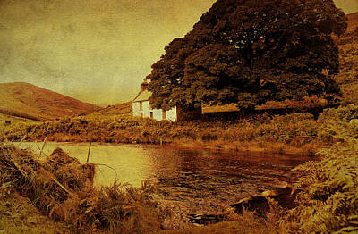 Photograph - Once Upon A Time. Somewhere In Wicklow Mountains. Ireland by Jenny Rainbow
