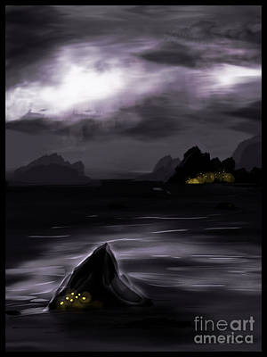 One Dark Night Art Print by J Kinion