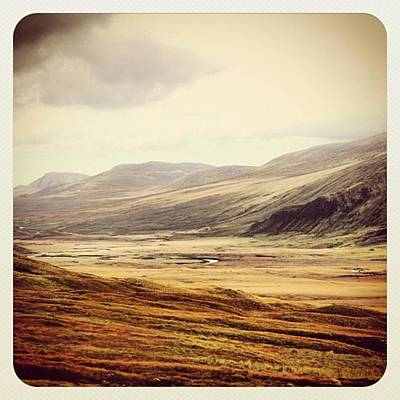 Landscapes Wall Art - Photograph - One Day In The Highlands by Luisa Azzolini