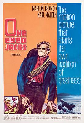 One-eyed Jacks, Marlon Brando, 1961 Art Print by Everett