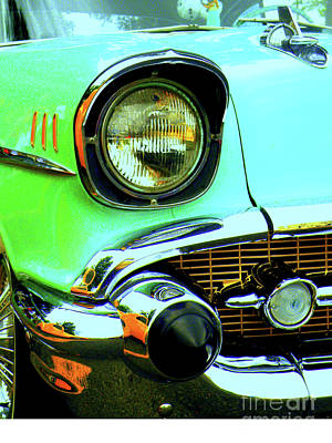 Rusted Cars Photograph - One Eyed Monster by Joe Jake Pratt