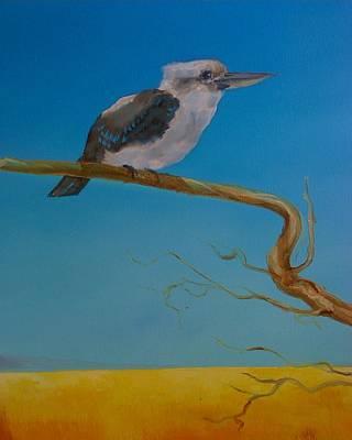 Paul Morgan Painting - One In The Bush by Paul Morgan