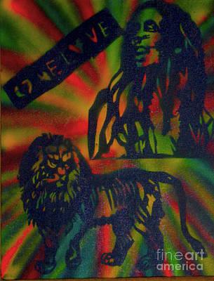 Tony B. Conscious Painting - One Love by Tony B Conscious