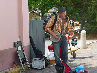 Photograph - One Man Band by Helen Haw