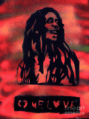 First Amendment Painting - One Marley by Tony B Conscious