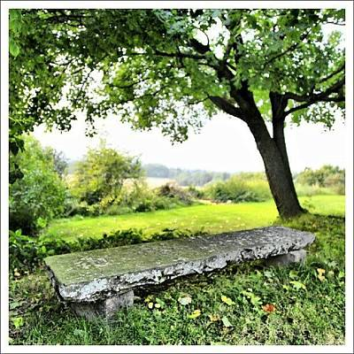 Abstract Landscape Wall Art - Photograph - One Of My Favorite Places To Just Sit by Thomas Berger