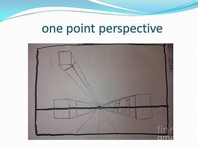 Painting - One Point Perspective by Carol Rashawnna Williams
