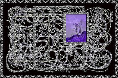 Photograph - One Purple Tree by Barbara  White
