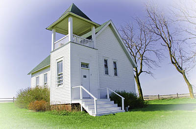 One Room School House No.3 Art Print
