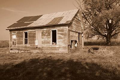 One Room School House Art Print by Rick Rauzi