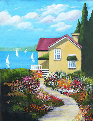 Painting - One Sunny Afternoon by Heidi Patricio-Nadon