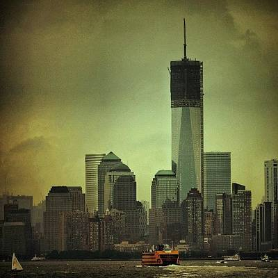 Nyc Skyline Wall Art - Photograph - One Wtc Tower - New York by Joel Lopez