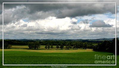 Photograph - Oneida New York Clouds And Beautiful Countryside by Rose Santuci-Sofranko