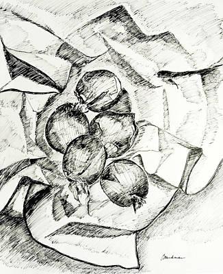 Onions Art Print by Lynda K Boardman
